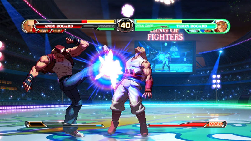 king of fighters XII 4