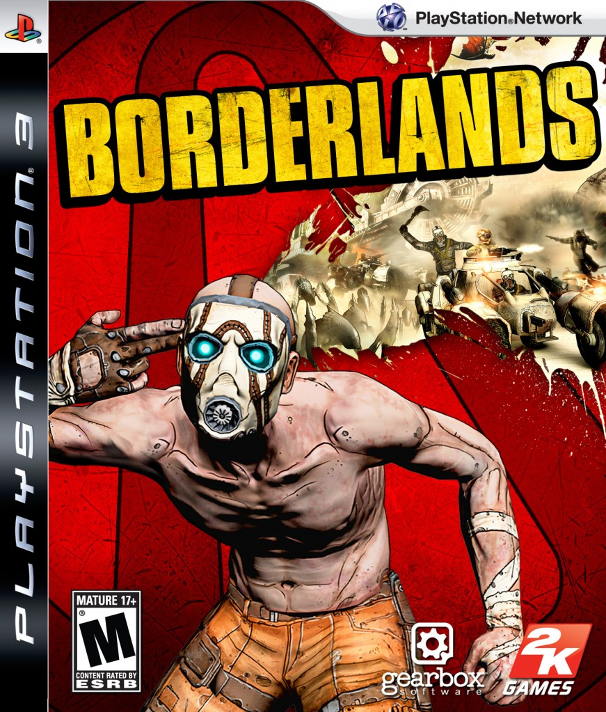 Borderlands cover pS3