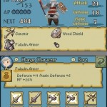 Final Fantasy 4 Heroes of Light DS Screen