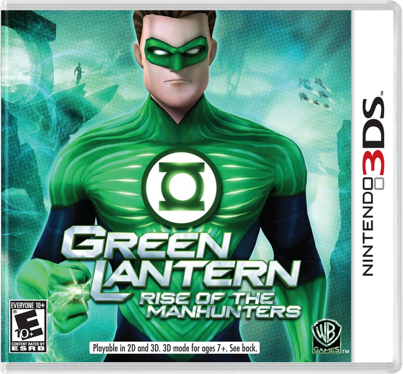 Green Lantern: Rise of the Manhunters Available on 3DS in June