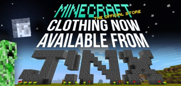 J!NX Releases Minecraft Shirts Just For You