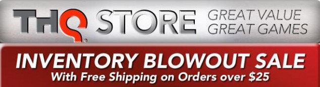 THQ's Inventory Blowout Sale