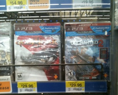 Despite What WalMart Wants You to Believe, These Titles Are Not PlayStation Move Compatible