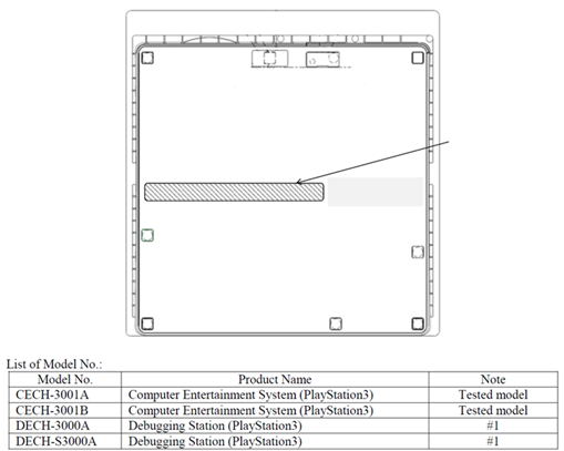 New PS3 Model Confirmed in FCC Files