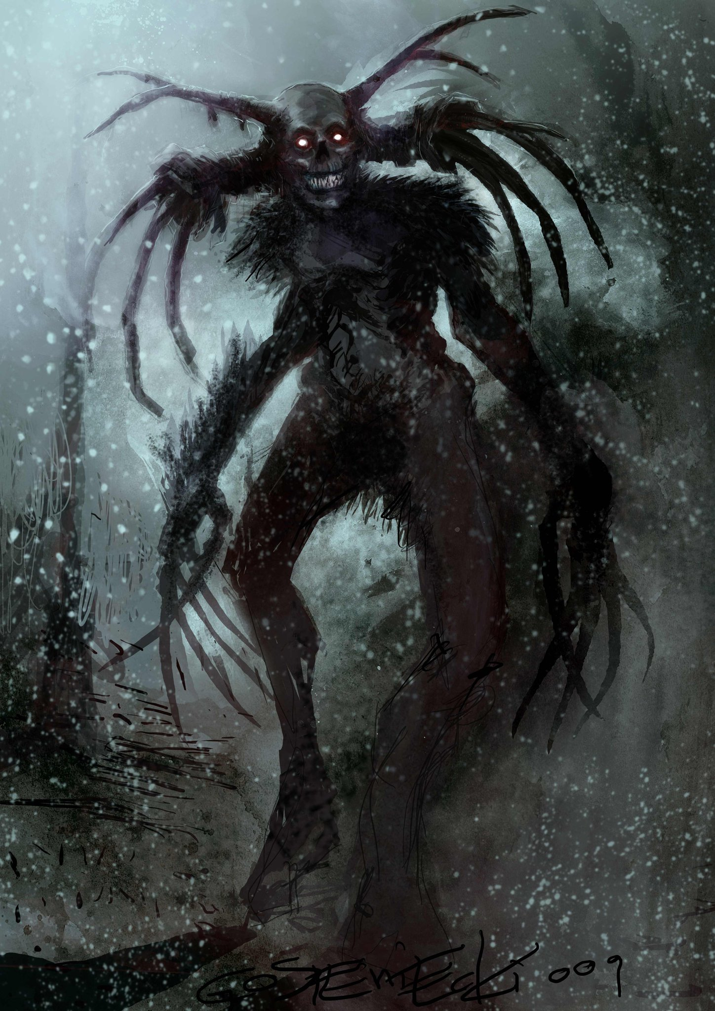 Do Get Terrified by This Shadows of the Damned Concept Art