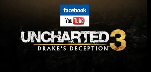 """Uncharted 3 Will Have Facebook and Youtube """"Within the Game"""""""