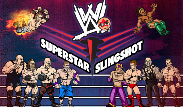WWE Superstars Slingshot is like Angry Birds, with Wrestlers