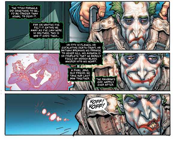 Arkham City Comic Preview Gives a Glimpse of Things that May Come