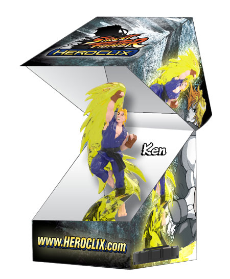 Street Fighter Series Joining the Heroclix Line