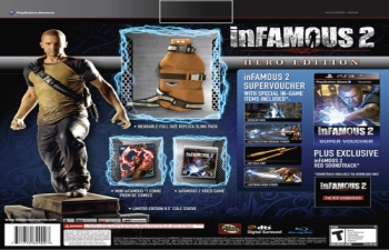 inFAMOUS 2 Hero Edition Screens Reveal ESRB Rating