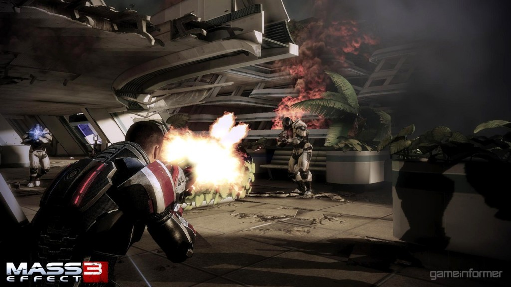 First Direct Feed Mass Effect 3 Screens...Don't Show Much