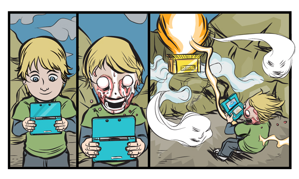 This 3DS Comic Will Melt Your Face