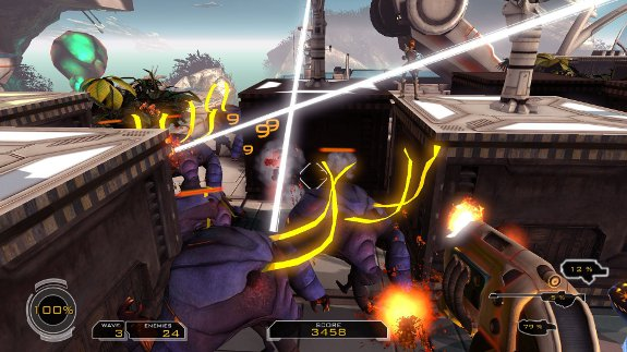 FPS Tower Defense Game Sanctum is Now Available on Steam