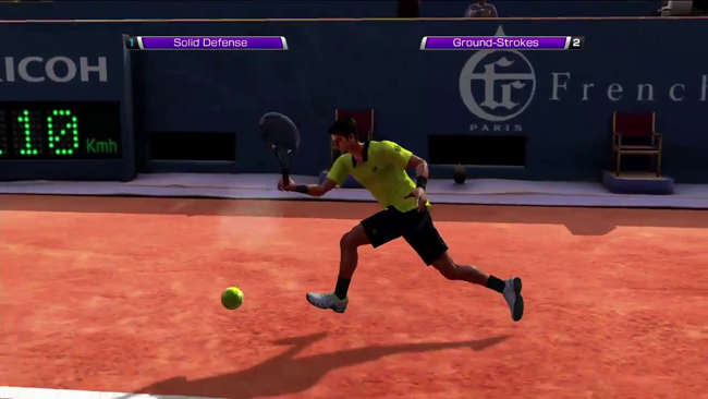 Virtua Tennis Now Available, Here's Another Trailer