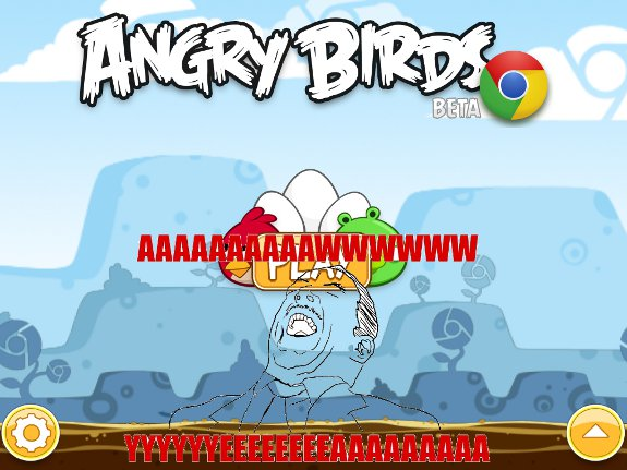 Drop All Your Important Work: Angry Birds is Now Available on Chrome. For FREE.