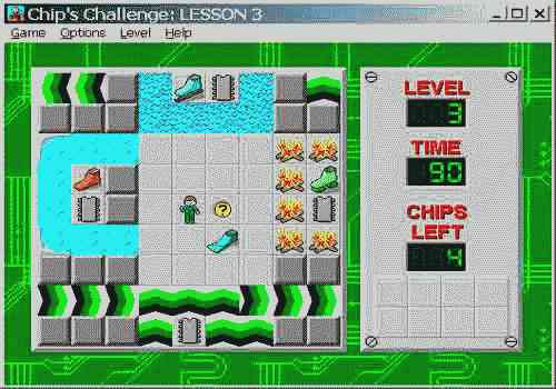 Bored at Work? Play Chip's Challenge, Right This Very Second