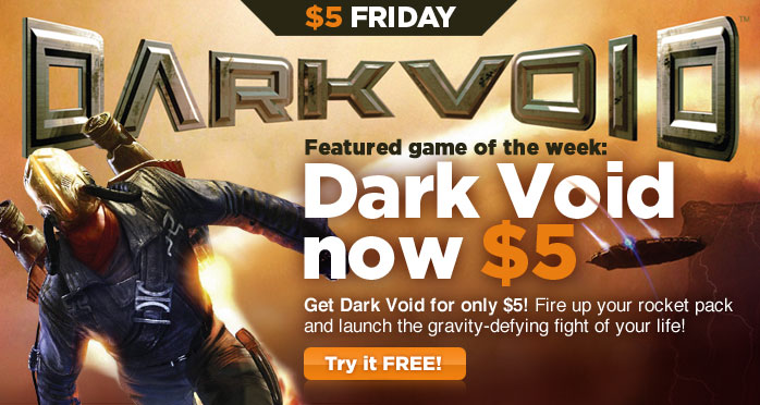 Get Dark Void For  on OnLive Today Only