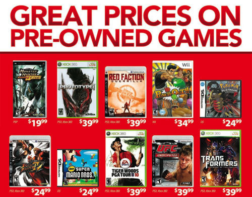 Used Games Retailer Says Used Games are Good for the Industry, LOL
