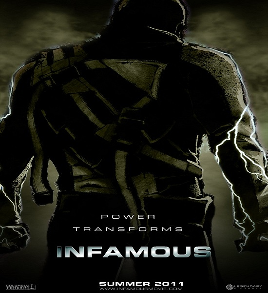 inFAMOUS Movie Still a Long Way Off