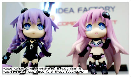 Neptunia MK-2 Limited Edition Nendoroids Look Pretty Awesome