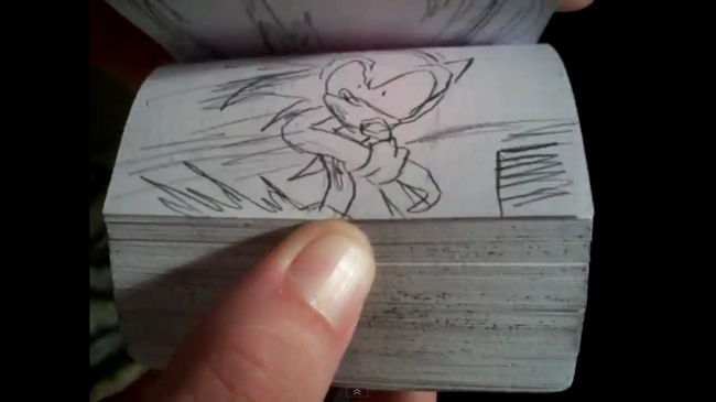 Fan-Made Sonic 3 Flip-book is Awesome, Well-Animated
