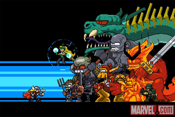 Thor: Bring the Thunder is True 16 Bit Glory
