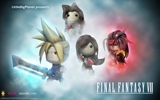 LittleBigPlanet 2's Final Fantasy VII Costume Pack is Gnarly