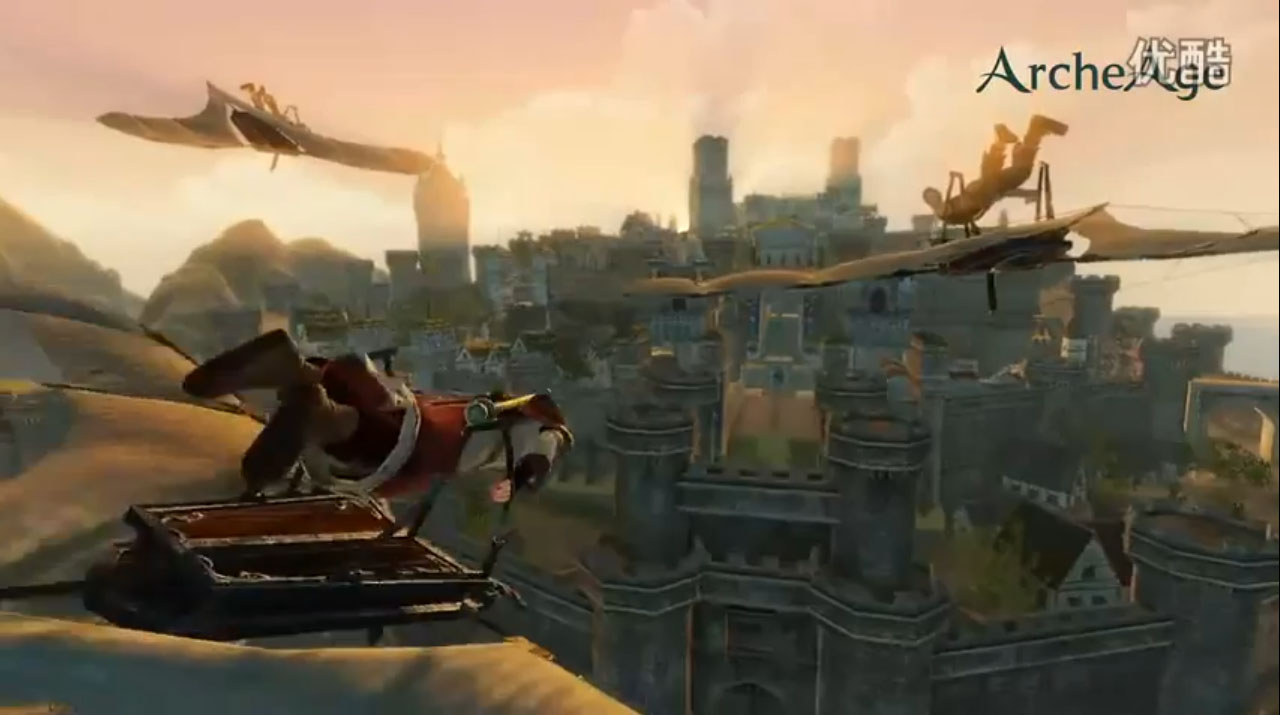 New ArcheAge Video Shows Transportation, Gliders