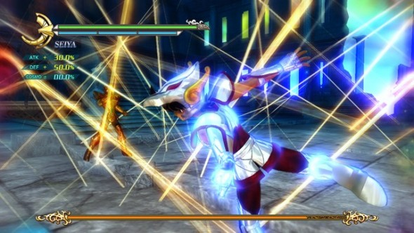 New Screenshots and Info about Saint Seiya: Sanctuary Battle Will Make Your Cosmo Burn