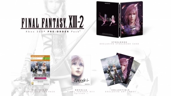 European Gamers Will Get All The Preorder Bonuses for Final Fantasy XIII-2