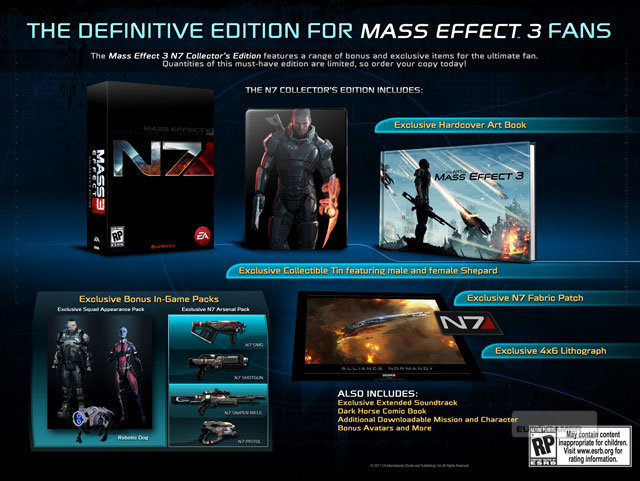 Mass Effect 3 Collector's Edition Detailed