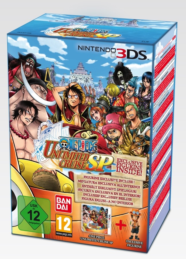 One Piece Unlimited Cruise SP Gets European Release Date, Bundle, Pack Shots