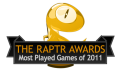 Raptr's Most Played Games of the Year List Released
