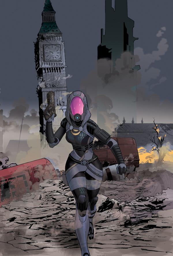 Exclusive: Second Issue of Mass Effect: Homeworlds Comic Will Feature Tali