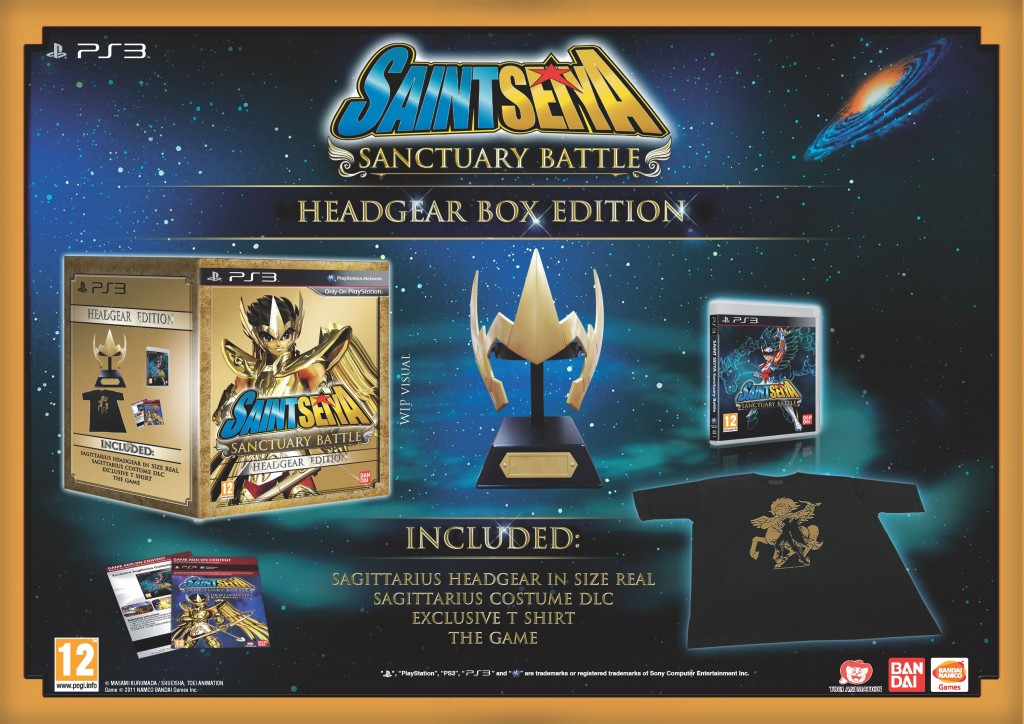 Saint Seiya: Sanctuary Battle Gets a Release Date, Two Limited Editions