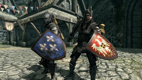 The Skyrim Mod Forge – Episode 10 – Rainbow Colors, Weapons, Armor and Witcher Gear