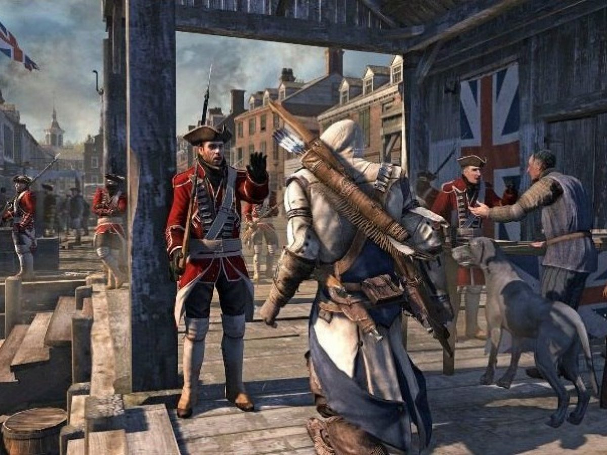 Assassin S Creed Iii Gameplay Premiere Trailer Showcases Connor S