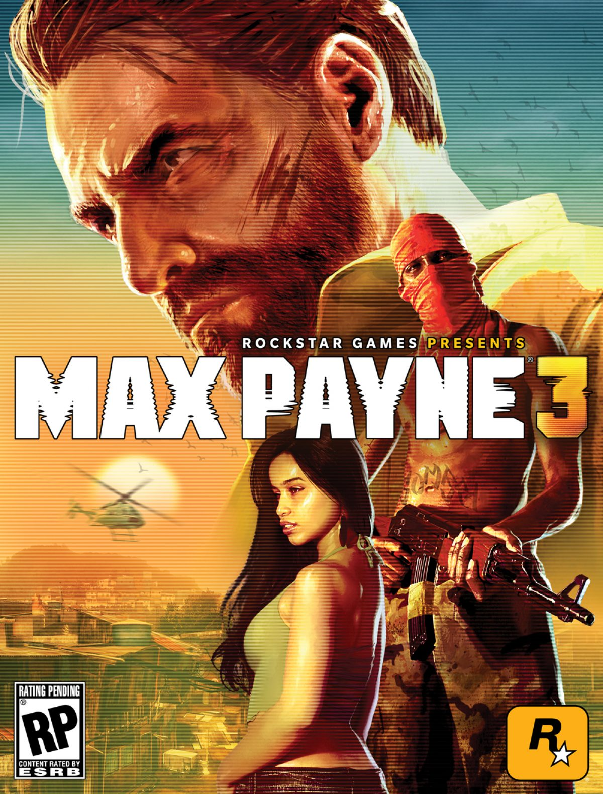Max Payne 3 Official Box Art Revealed