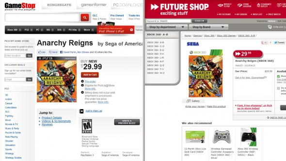 Rumor: Anarchy Reigns to Launch at Budget Price