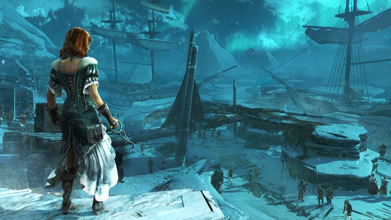 New Assassin S Creed Iii Gameplay Footage Artwork And Screenshots