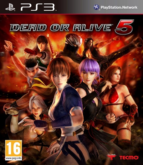 Dead or Alive 5's Real Box Art Looks Much Better