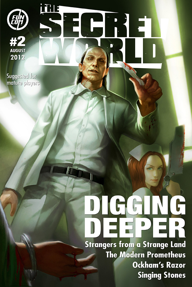 GC 2012: The Secret World Gets a Free Trial, Issue #2 Details, Info on the First Raid
