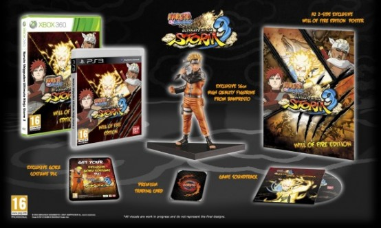 Europe Getting Two Naruto Shippuden: Ultimate Ninja Storm 3 Limited Editions