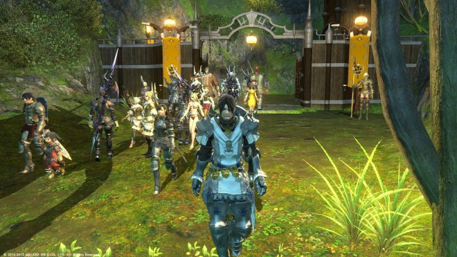 Final Fantasy XIV Players March to Their Final Battle