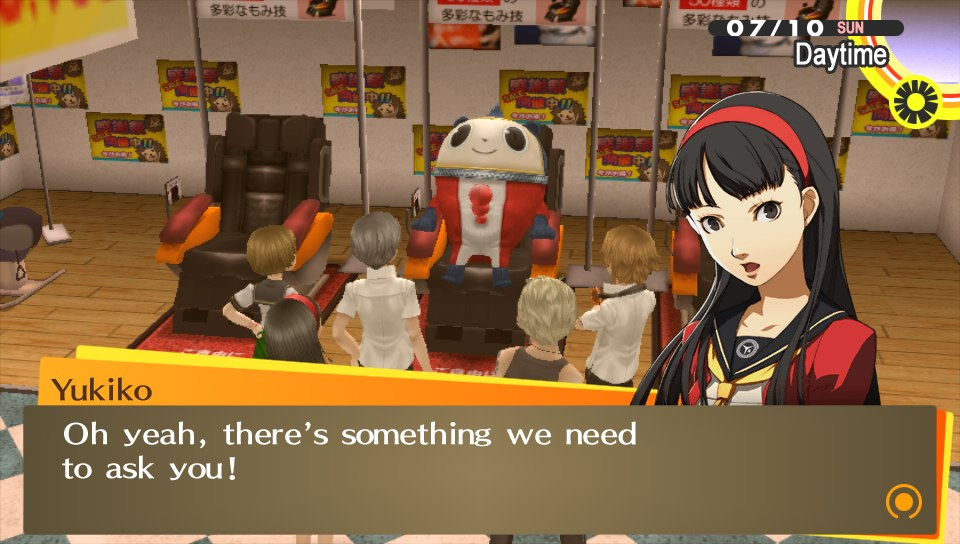 Persona Golden - Japan map persona 4