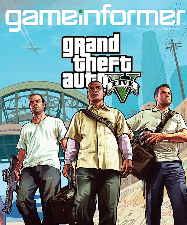 Grand Theft Auto V Will Feature Three Protagonists