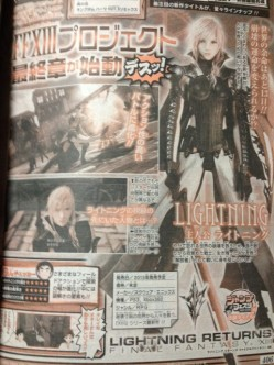 See Lightning's New Costume in First Lightning Returns: Final Fantasy XIII Magazine Scans