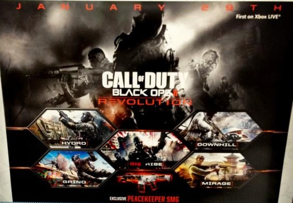 Call of Duty Black Ops 2 DLC Leaked Call Of Duty Black Ops Zombies Maps on