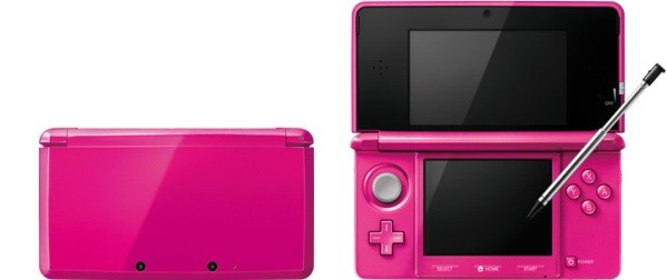 gloss pink 3ds