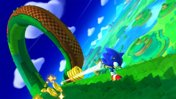 Sonic: Lost World - Loop and Rings